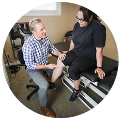 One-on-one physical therapy