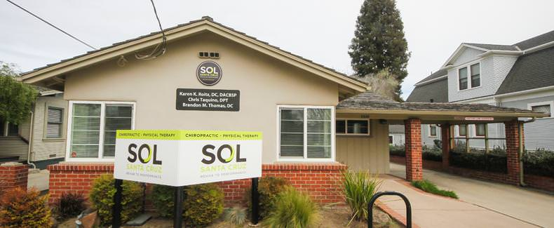 SOL Santa Cruz is Santa Cruz county's premier chiropractic and physical therapy clinic.